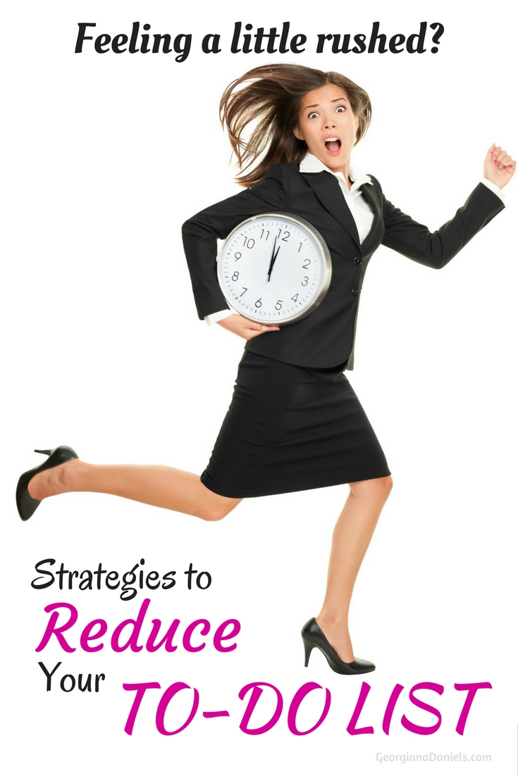 Strategies to Reduce Your To-Do List