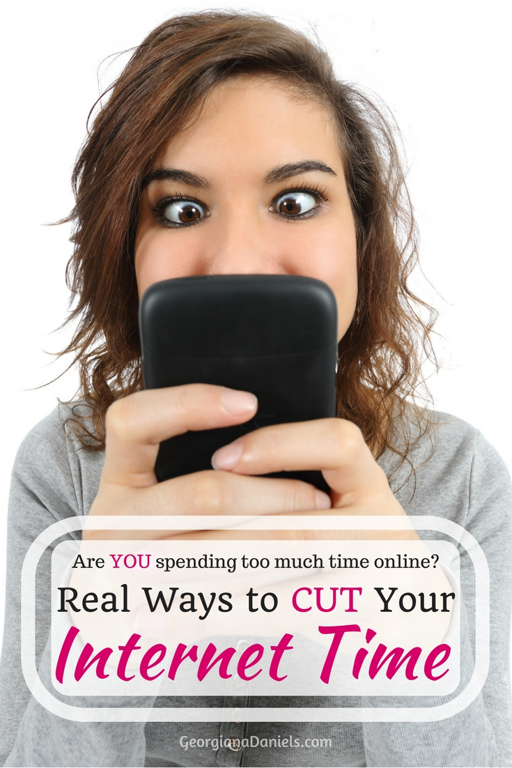 Real Ways to Cut Your Internet Time