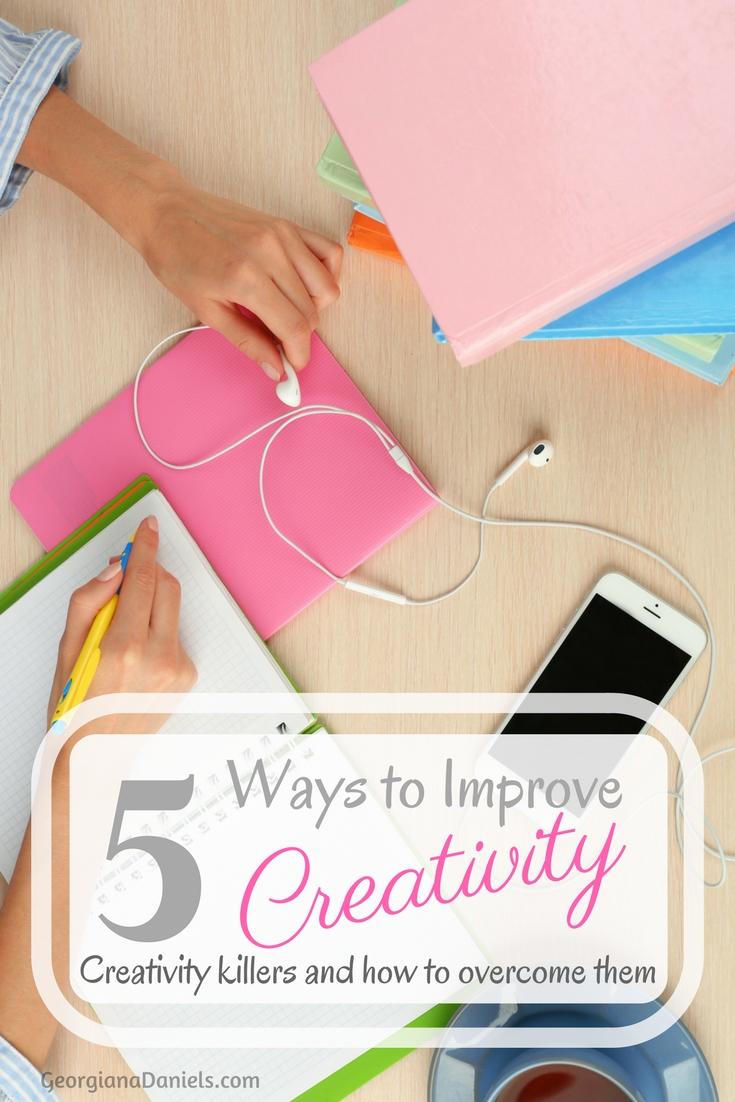 5 Ways to Improve Creativity
