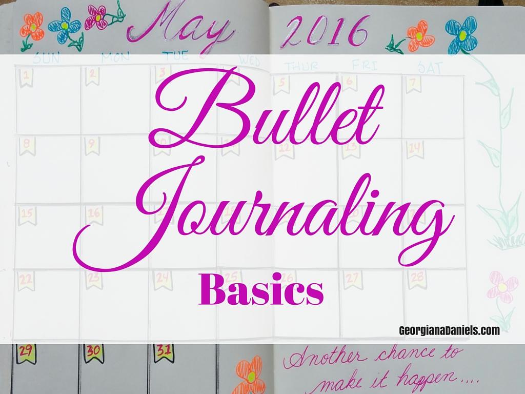 Bullet Journaling Basics