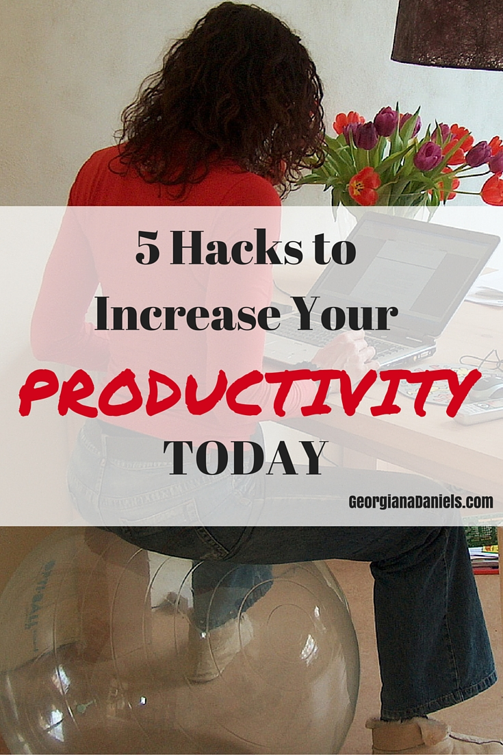 5 Hacks to Increase Your Productivity Today