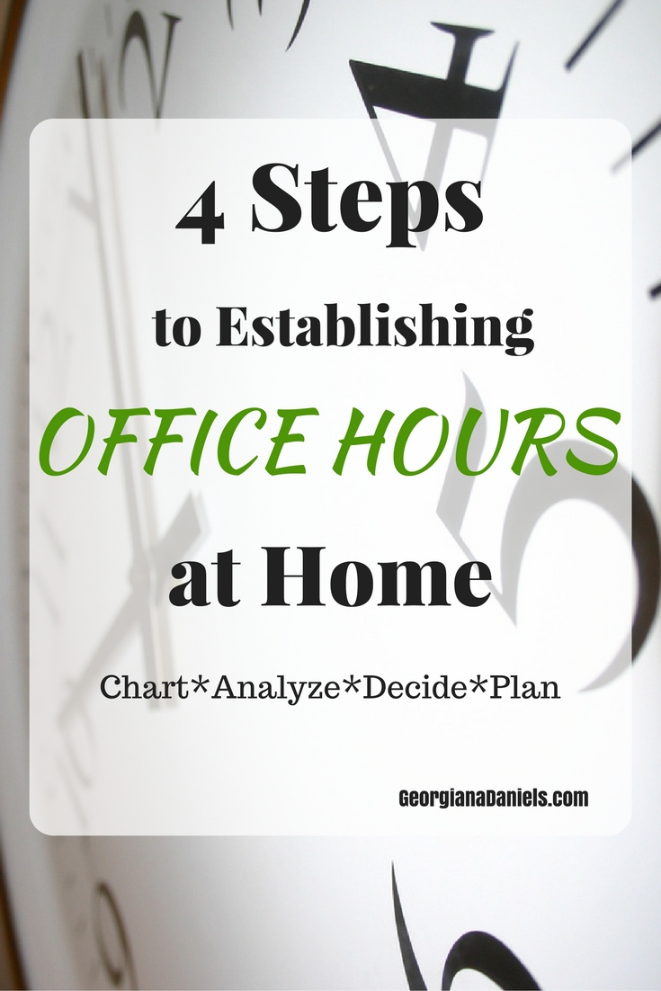 4 Steps to Establishing Office Hours at Home